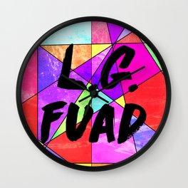 Motion City Soundtrack L.G. FAUD Wall Clock