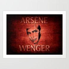 Arsene Wegner Art Print