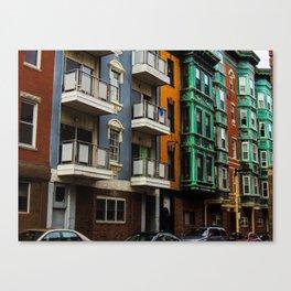 Boston Little Italy Canvas Print