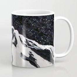 Mount Hood and Stars Coffee Mug