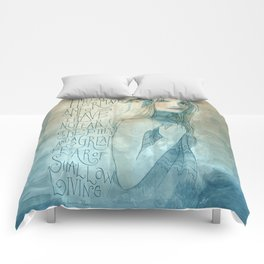 I must be a mermaid Comforters