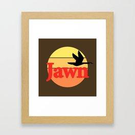 Wawa Jawn Framed Art Print