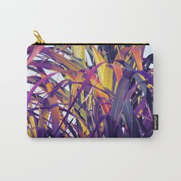 Bight Colorful Bamboo Carry-All Pouch