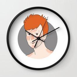 redhead boy Wall Clock