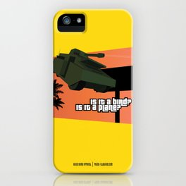 Flying Tank iPhone Case