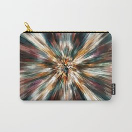 Earth Tones Tie Dye Carry-All Pouch