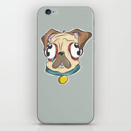 Gross Pug iPhone Skin