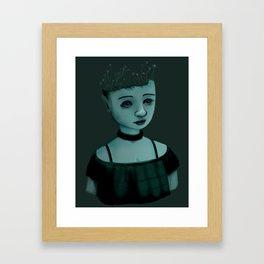Night Girl II Framed Art Print