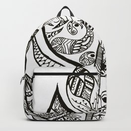 Feathery Backpack