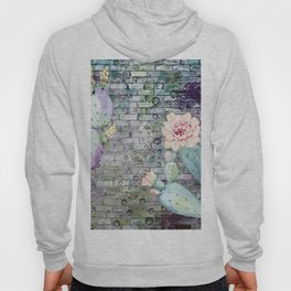 cactus in the wall Hoody
