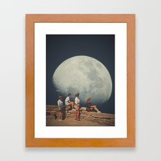 FriendsnotFriends Framed Art Print