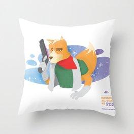 Fox McCloud | Nintendo All-Stars #3 Throw Pillow
