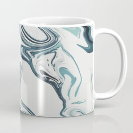 Liquid Marble Blues 023 Coffee Mug