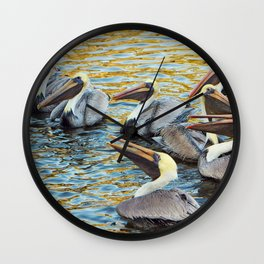Throw Me Something Mister Wall Clock
