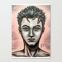 Realistic Yuri Katsuki Canvas Print