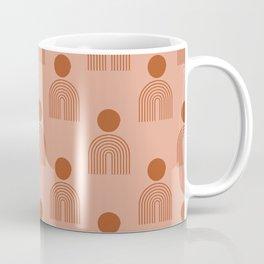 Full moon rainbow pattern collection SS03 Coffee Mug