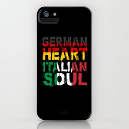 Italy Love iPhone Case