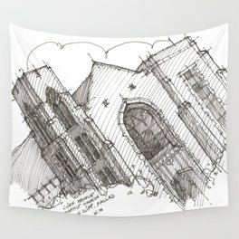 Oa[k]cliff Temple Wall Tapestry