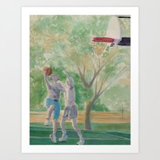 Game is On Art Print