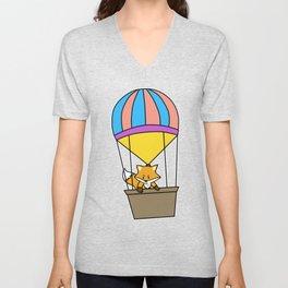 Ballooning Balloon Hot Air Balloon Gift Shirt Unisex V-Neck