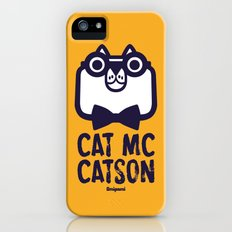 Cat Mc Catson iPhone (5, 5s) Slim Case