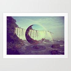 Water Wizard Art Print