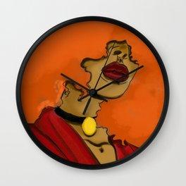 Sara Bellum Wall Clock