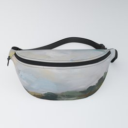 original abstract landscape painting number 14 Fanny Pack