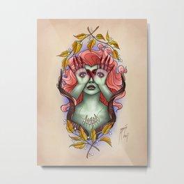 Eye Eye Metal Print
