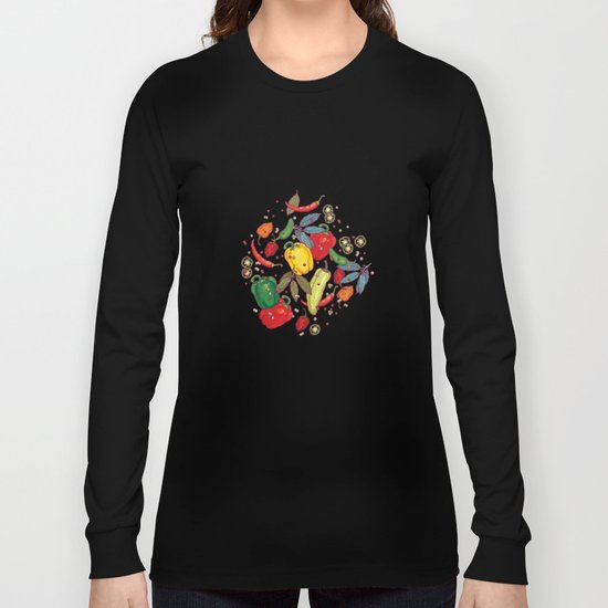 Hot & spicy! Long Sleeve T-shirt