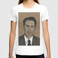 snl T-shirts featuring Steve Buscemi by Kalynn Burke