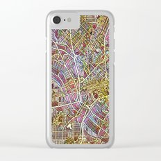 Dallas Color Variation 1 Clear iPhone Case
