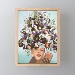 Floral Fashions III Framed Mini Art Print