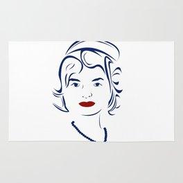 Jackie Kennedy - Hairography Jackie O Rug