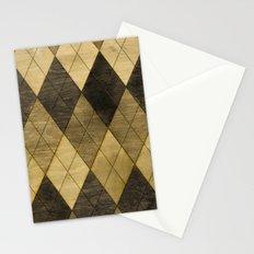 Wooden big diamond Stationery Cards
