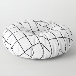 Cityscape Floor Pillow