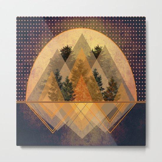 try again tree-angles mountains Metal Print