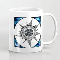 zodiac Mugs featuring Zodiac  by HaleySayersArt