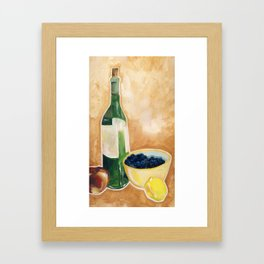 Let's cook! Framed Art Print