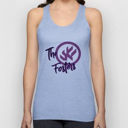 "The Fosters Band Shirt - ""The Ultimate Wingman"" Klance Fic (Color Logo) Unisex Tank Top"