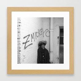 zmickeyc graffiti photo Framed Art Print