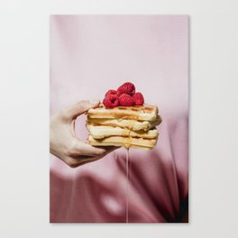 Waffles Leinwanddruck