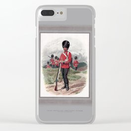 Third Battalion Grenadier Guards, drawn from life by Frank Dadd Clear iPhone Case