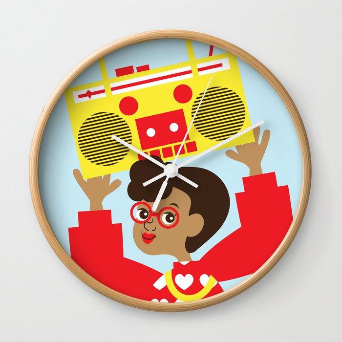 Trini Transistor  Wall Clock