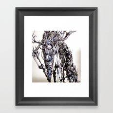 cast a spell on her Framed Art Print