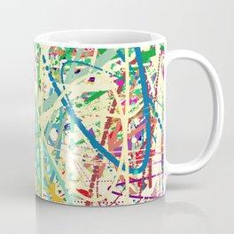An Homage to Pollock Coffee Mug