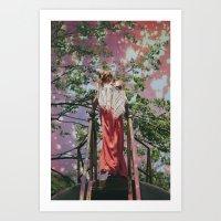 bleach Art Prints featuring bleach  by Levi Walton