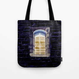 Keep One Eye Open at Night Tote Bag