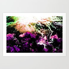 Formation with Intensity Art Print