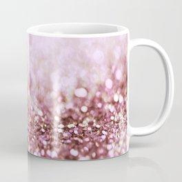 Pink Sparkle shiny glitter effect print - Sparkle Valentine Backdrop Coffee Mug